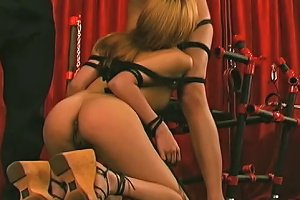 Horny Bondage Master Has A Fetish For Asian Chicks