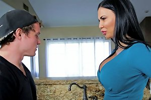 Busty Horny Housewife Hires A Handyman Strictly For His Cock