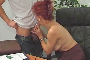 Hot Euro Mature Redhead Bangs In Office Porn Ea Xhamster