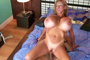 Super Big Tits And A Hairy Pussy