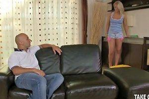 Horny Stud Bangs Neighbors' Wives