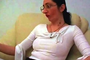 Milf In Glasses With Young Man Free Mature Porn Video Dd